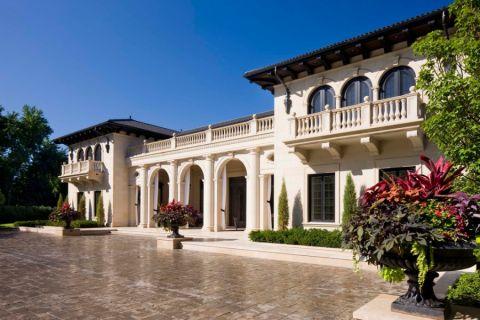 外景外墙地中海风格装潢设计图片