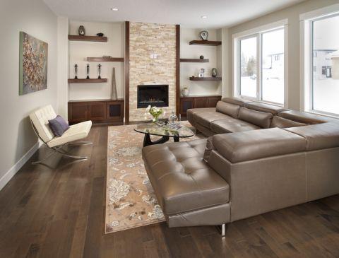 73平米公寓现代风格装修图片