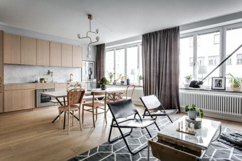 客厅茶几北欧风格装饰效果图
