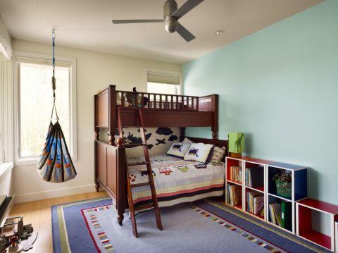 儿童房床现代风格装潢图片