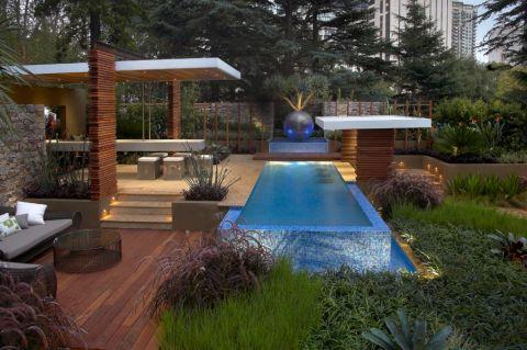 花园茶几现代风格装修效果图