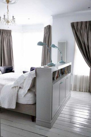 卧室地板砖混搭风格装饰效果图