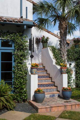 阳台细节地中海风格装修图片