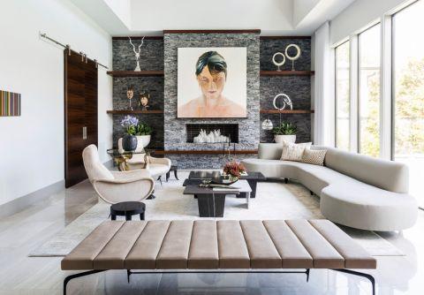 99平米公寓地中海风格装修图片