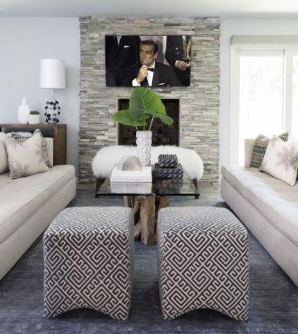 客厅沙发地中海风格装饰效果图