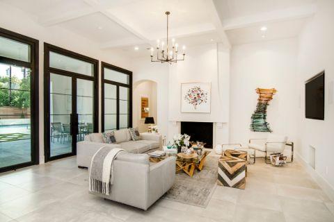 庭院206平米地中海风格装修效果图