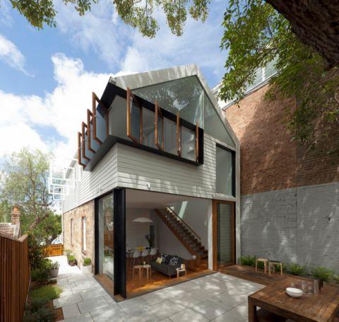 三居室60平米混搭风格装饰实景图