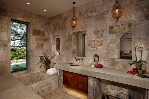 浴室吊顶地中海风格装饰效果图