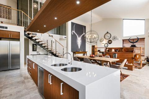 厨房厨房岛台现代风格装修图片