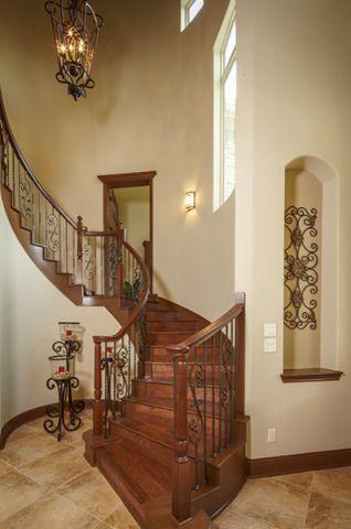 客厅地砖地中海风格装饰效果图