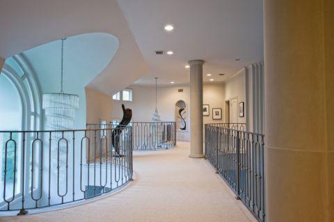 卧室走廊地中海风格装修设计图片