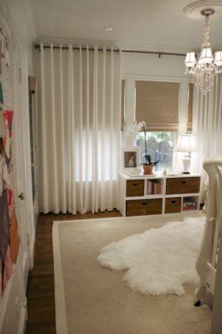 儿童房吊顶美式风格装饰设计图片