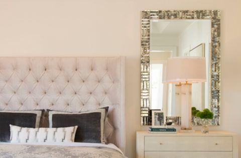 卧室背景墙地中海风格装潢设计图片