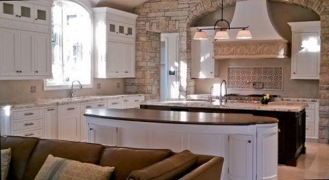 厨房橱柜地中海风格装修设计图片