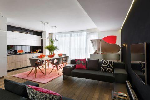 现代风格别墅266平米装修图片