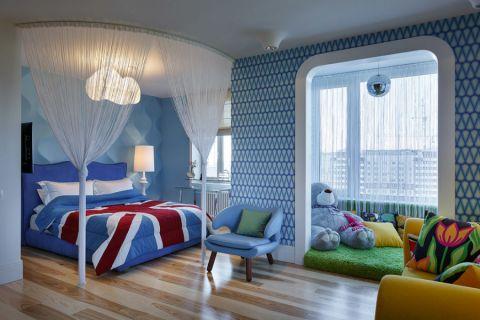 儿童房床现代风格装修效果图