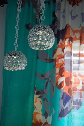 儿童房窗帘混搭风格装饰效果图