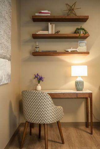 卧室书桌现代风格装潢效果图