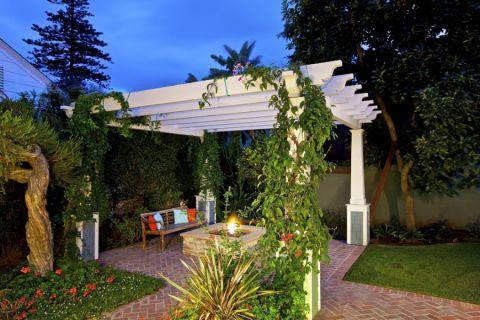 阳台地砖美式风格效果图