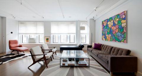 一居室148平米现代风格装修图片