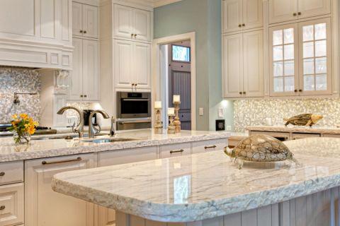 厨房厨房岛台美式风格装潢图片