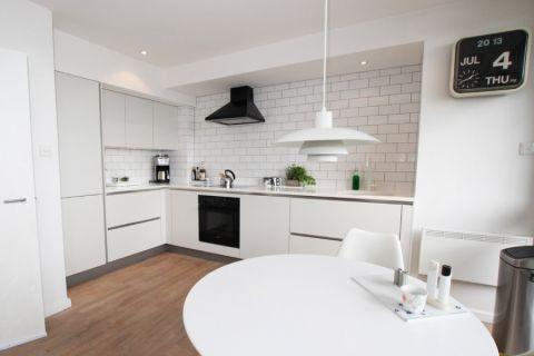 厨房餐桌现代风格装修图片