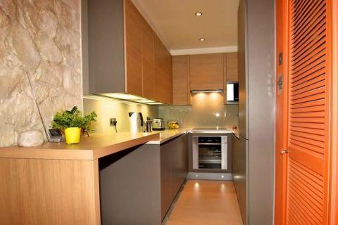 厨房地砖现代风格装饰设计图片