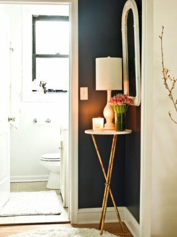 浴室背景墙混搭风格装修效果图