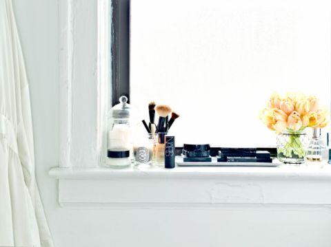 浴室窗帘混搭风格装饰效果图