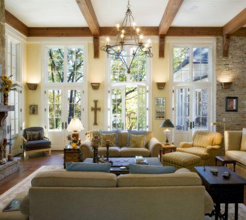 220平米庭院美式风格装修图片