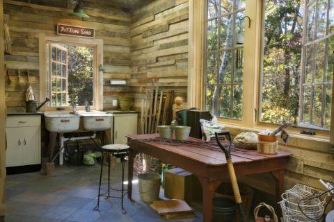 厨房地砖美式风格装潢图片