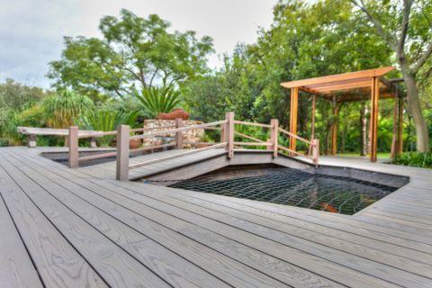 花园地板砖现代风格装潢效果图