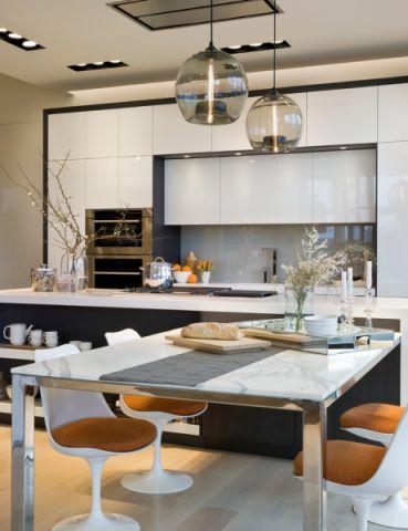 厨房餐桌现代风格装修效果图