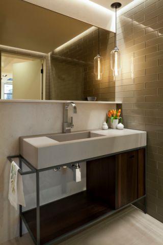 卫生间洗漱台现代风格装饰图片