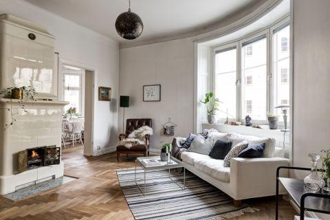 客厅北欧风格效果图大全2017图片