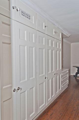 卧室地板砖美式风格装饰效果图