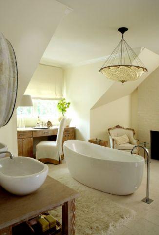 浴室吊顶美式风格装饰设计图片