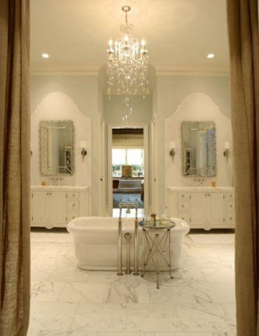 浴室吊顶美式风格装饰效果图
