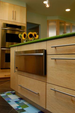 厨房地砖混搭风格装饰设计图片