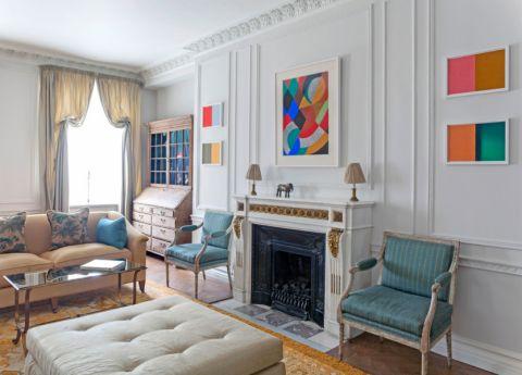 113平米公寓美式风格装潢图片