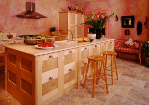厨房地砖地中海风格装修效果图