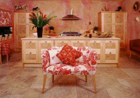 厨房厨房岛台地中海风格装修图片