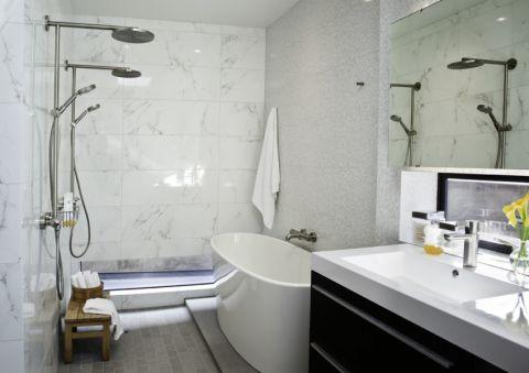 浴室浴缸现代风格效果图