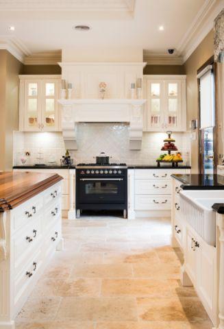 厨房地砖美式风格装修图片