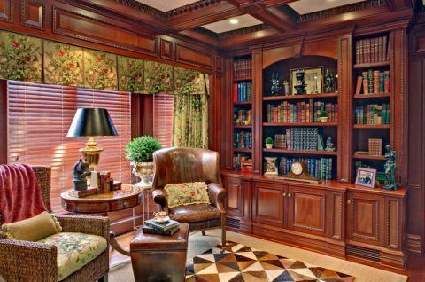 书房灯具美式风格装修效果图