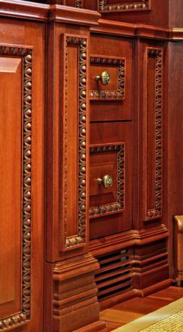 书房细节美式风格装饰图片