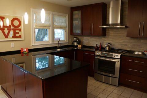 厨房窗帘现代风格装饰设计图片
