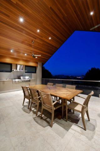 阳台餐桌现代风格效果图