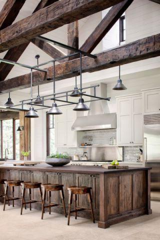 厨房吧台地中海风格装饰设计图片