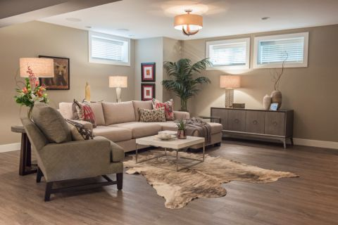 105平米公寓现代风格装修图片